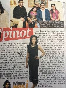 In Praise of Pinot event in Indulge